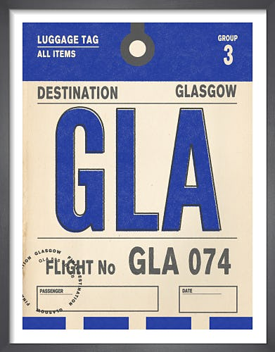 Destination - Glasgow by Nick Cranston