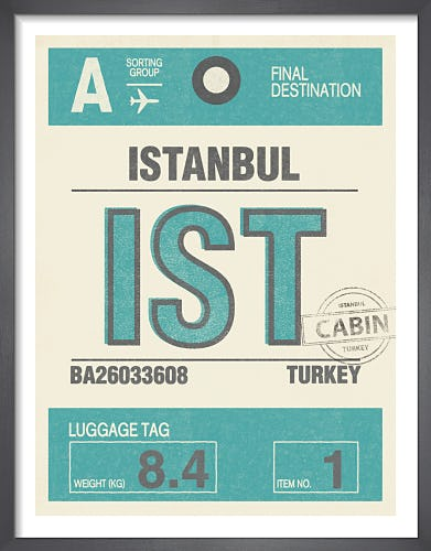 Destination - Istanbul by Nick Cranston