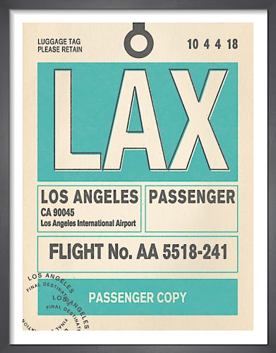 Destination - Los Angeles by Nick Cranston
