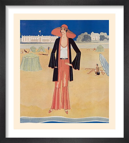 A Tatler Fashion for July by Gordon Conway