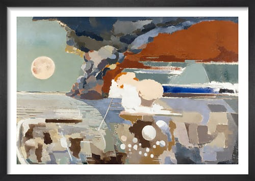 Battle of Germany by Paul Nash