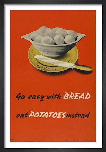 Go Easy with Bread - Eat Potatoes Instead from Imperial War Museums