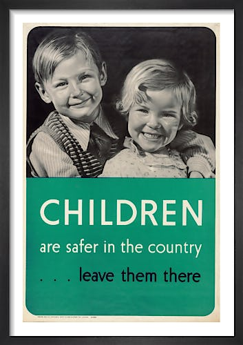 Children are Safer in the Country from Imperial War Museums