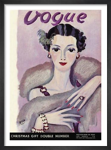 Vogue 14 November 1934 by Eduardo Benito