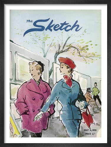 The Sketch, 4 May 1955 by T.W.