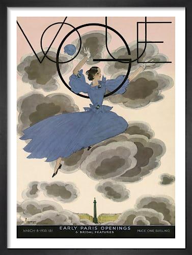 Vogue March 1933 by Alex Zeilinger