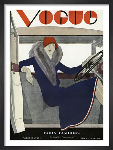 Vogue 20 March 1929 by Pierre Mourgue