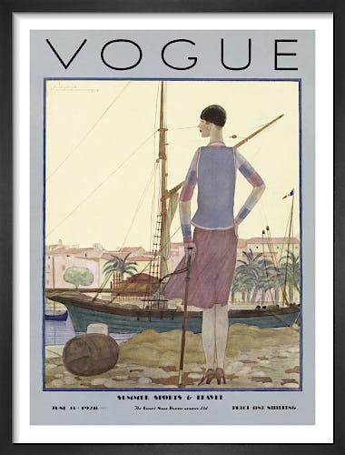 Vogue June 1928 by Georges Lepape