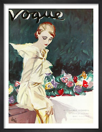 Vogue July 12th 1933 by (Eric) Carl Erickson
