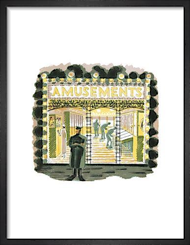 Amusements by Eric Ravilious