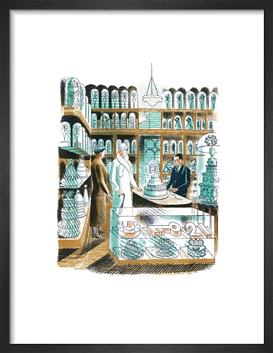 Wedding Cakes by Eric Ravilious