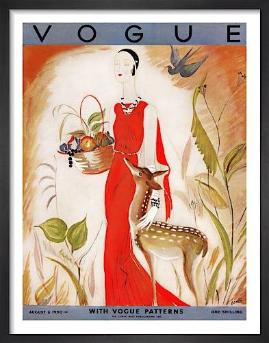 Vogue, August 6th 1930 by Eduardo Benito