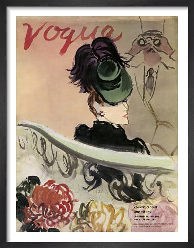 Vogue September 1938 by Eric