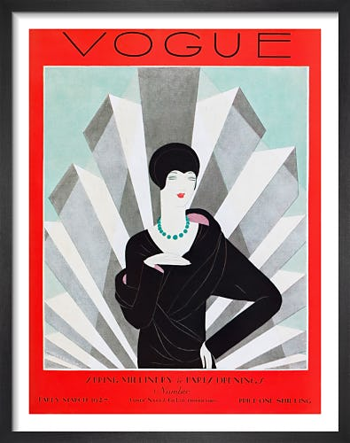 Vogue, Early March 1927 by Harriet Meserole