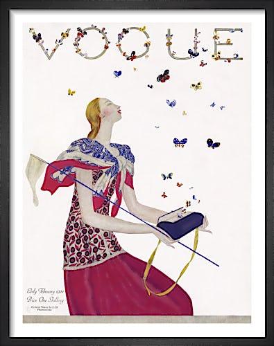 Vogue Early February 1924 by Eduardo Benito