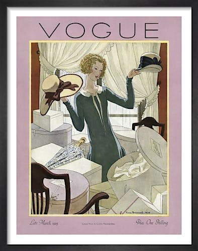 Vogue Late March 1925 by Pierre Brissaud