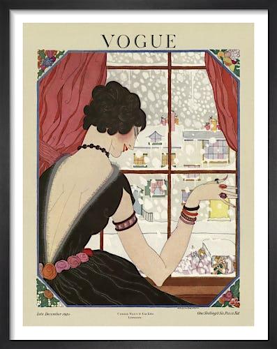 Vogue Late December 1920 by Helen Dryden