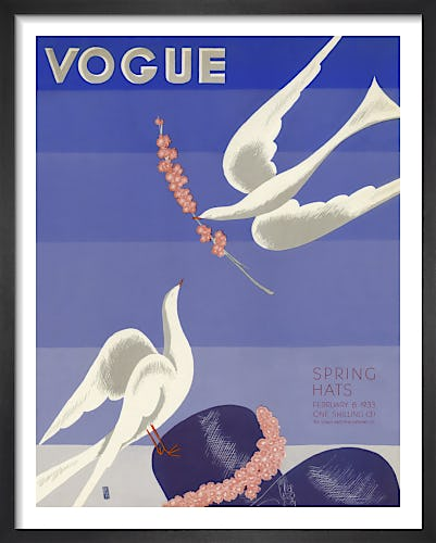 Vogue Februay 1933 by Georges Lepape