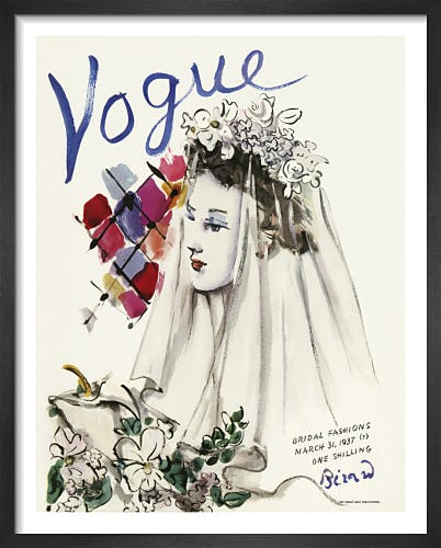 Vogue March 1937 by Christian Bérard