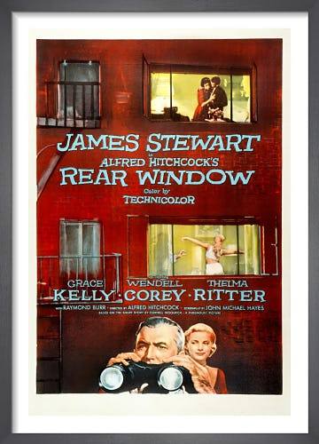 Rear Window by Cinema Greats