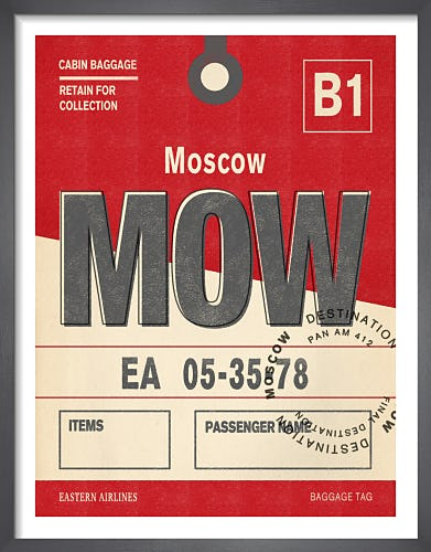 Destination - Moscow by Nick Cranston