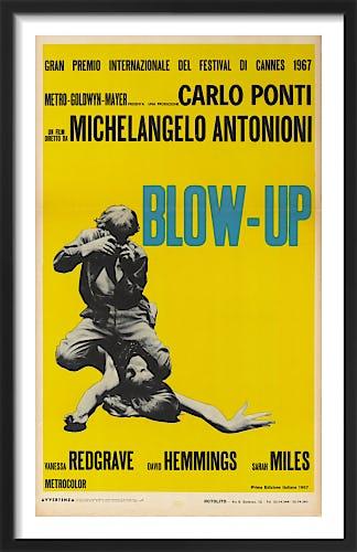 Blow-Up (italian - yellow) by Cinema Greats