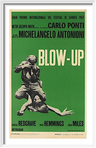 Blow-Up (italian - green) by Cinema Greats