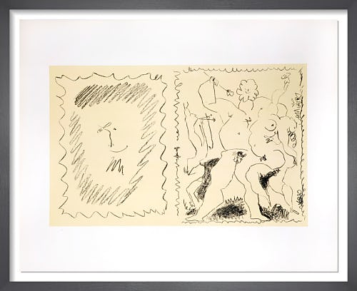 Bacchanal - Cover from the illustrated book by Pablo Picasso