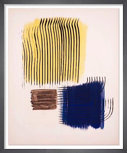 Musée National d'art Moderne de Paris, 1956 by Hans Hartung