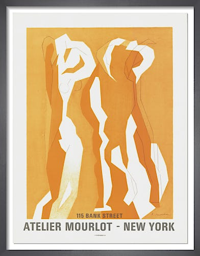 Atelier Mourlot, New York, 1967 by Andre Beaudin
