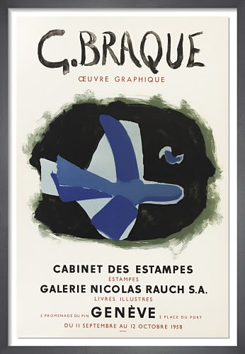 Cabinet des Estampes, 1958 by Georges Braque
