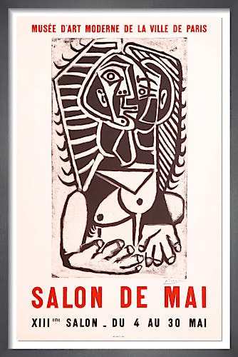 Salon de Mai, 1957 by Pablo Picasso