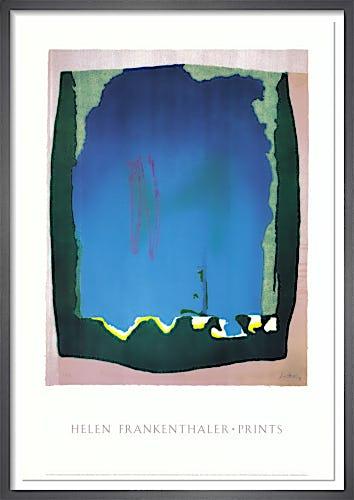 Freefall (Trial Proof, 1992) by Helen Frankenthaler