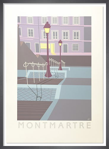Montmartre by Perry King