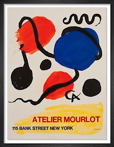 Atelier Mourlot, Bank Street, New York, 1967 by Alexander Calder
