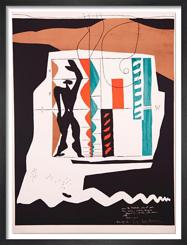Modulor, 1950 by Le Corbusier