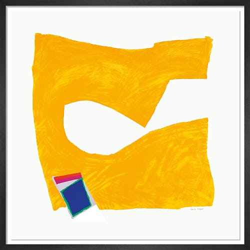 Inside Story (Yellow) 1991-92 by Sandra Blow RA