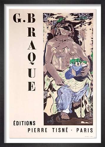 Editions Pierre Tisné - Paris, 1953 by Georges Braque