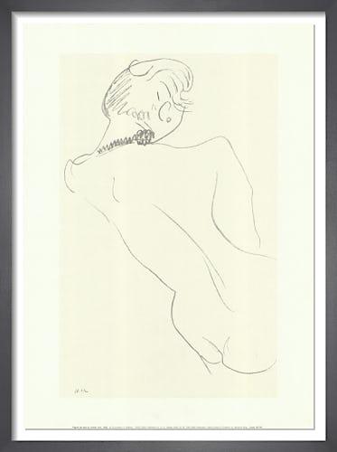 Figure de Dos au Collier Noir, 1906 by Henri Matisse