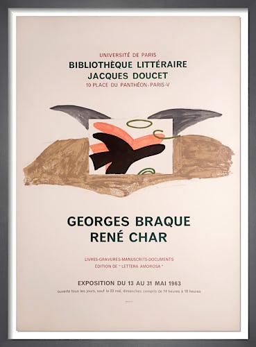 Bibliothéque Littéraire Jacques Doucet, 1963 by Georges Braque