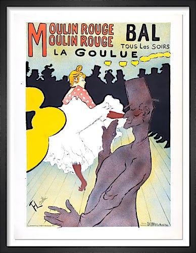 La Goulue, 1955 by Henri de Toulouse-Lautrec