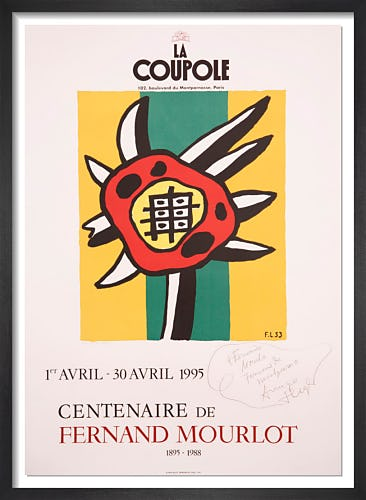 Centenaire de Fernand Mourlot, 1995 by Fernand Leger