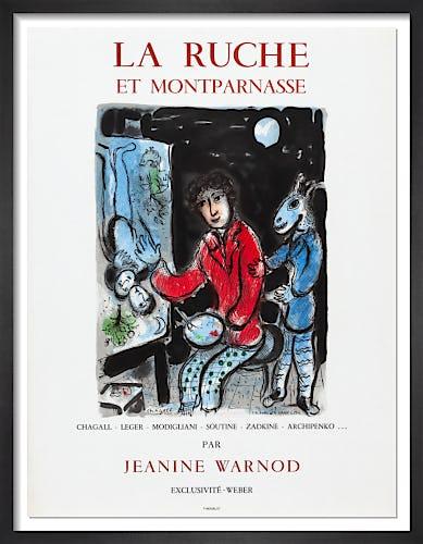 La Ruche et Montparnasse, 1979 by Marc Chagall