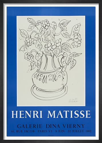 Galerie Dina Vierny, 1982 by Henri Matisse