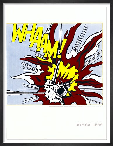 Whaam! by Roy Lichtenstein