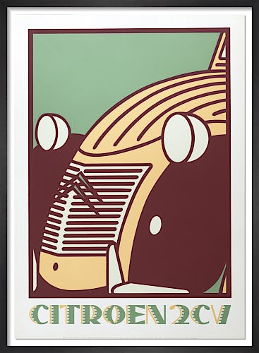 Citroen 2CV by Neil Gower