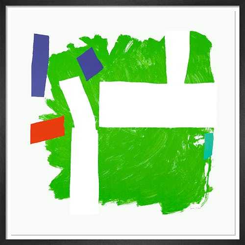 Split Second (Green) 1991-92 by Sandra Blow RA