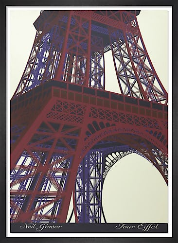 Tour Eiffel by Neil Gower