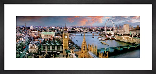 Parliament and River by Henry Reichhold