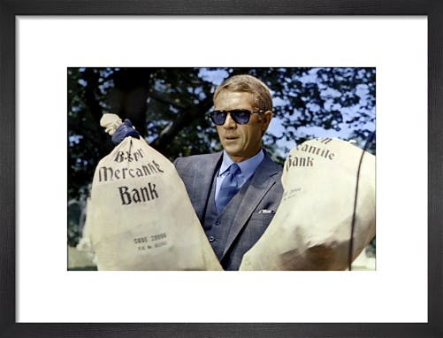 Steve McQueen - The Thomas Crown Affair by Hollywood Photo Archive